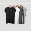 new design sleeveness  fashion hip hop plain plus short sleeve T shirt men t-shirt  no sleeve over size men