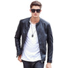 Motorcycle Leather Jackets Men Autumn Spring Leather Clothing Male casual Coats clothing
