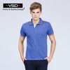 Design Summer Casual Print Slim Fit Cotton Shirts Men Short Sleeve Famous Men's Home