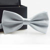 Fashion Bow Ties For Men Bowtie Tuxedo Classic Solid Color Wedding Party Red Black White Green Butterfly Adjustable