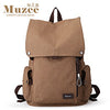 New Male Canvas Backpack High Capacity Travel Bag Laptop backpack  Men School Bag Rucksack