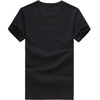 New Clothing Black/White T-Shirt Cotton T shirt Home Fitness Breathable Plus Size