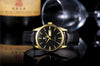 Men Watches military Vogue Leather Date Day Quartz Analog Clock Army Men sports Watch Belt Buckle