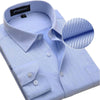 New Design Twill Cotton Pure Color White Business Formal Dress Shirts Men Fashion Long Sleeve Social Shirt
