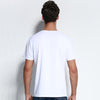 New fashion mens t shirt shorts elastic casual fitness men clothing solid cotton t-shirt male