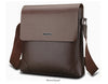 Leather Shoulder Bag Male Casual Business Satchel Messenger Bag Vintage Men's Crossbody Bags