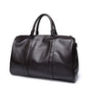 Leather Handbags For Men Large-Capacity Portable Shoulder Bags Men's Fashion Travel Bags Package