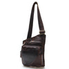 Casual  Leather Genuine Men Chest Bag Small Messenger Bags For Man  Shoulder Bags