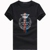 New fashion men t shirt 100%cotton short sleeve mens t shirt wear summer style t-shirt