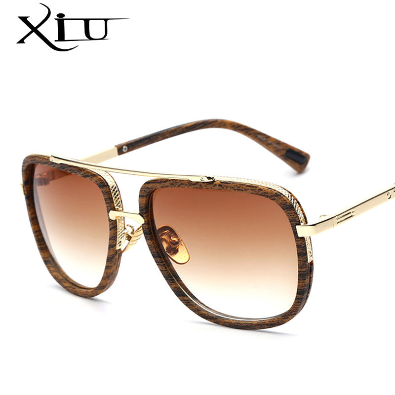 a90663d33f78c Sunglasses Men Women Retro Vintage Sun glasses Big Frame Fashion Glasses