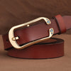 New Designer Women's Belts Genuine Leather Waist Strap Female Waistband Fashion Buckles Fancy Vintage for Jeans
