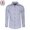 Men's Shirt  2016 New Arrive Spring Men Fashion Casual Shirt  Long Sleeve Drees Shirts 100% Cotton 073 Plus Size M-XXL