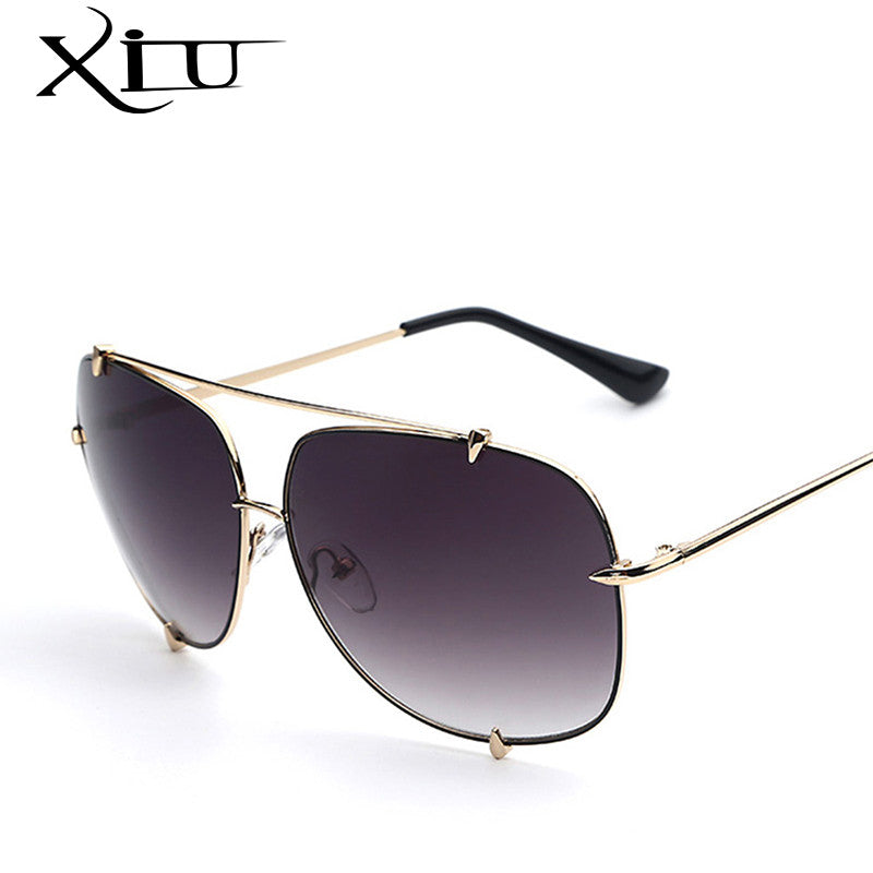 13cc61d24a06 Fashion Metal Sunglasses Women New Men's Designer Sun glasses Vintage