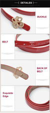 New Design Women's Belts Genuine Leather Buckles Waistband Luxury for Jeans Dress Female Top Quality Straps Ceinture Femme