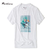 New Fashion T shirt Men Creative Printed Summer Men T shirt Short-sleeve Cotton Men's T-shirts