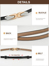 New Women's Belts Fashion Genuine Leather Elegant Elastic Waistband Luxury Jeans Dress Female High Quality Straps Ceinture Femme