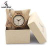 Mens Watches Half Patterns Wooden Watches Famous Brand Quartz Bamboo Watch for Men in Gift Box Accept