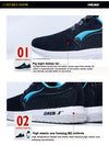 Autumn Winter running shoes anti slip women's retro sport sneakers travelling shoes for men