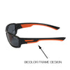 Bi color Polarized Sunglasses Men Sun Glasses Designer Vintage Male Google Eye wear