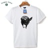 Men's T-shirt design pictures Flying hat O-Neck short-sleeved T-shirt men's casual T-shirt