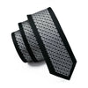 Black Tie Silk Necktie Fix Pattern New Casual Classic Fashion For Men Wedding Party Business