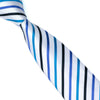 Men`s Tie Width 100% Silk Skinny Narrow Striped Classic Jacquard Woven Necktie For Wedding Groom Party Business