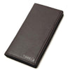 Large Capacity Wallet 100% Genuine Leather Coffee Color For Gentle Men's Vintage Men Leather Wallets