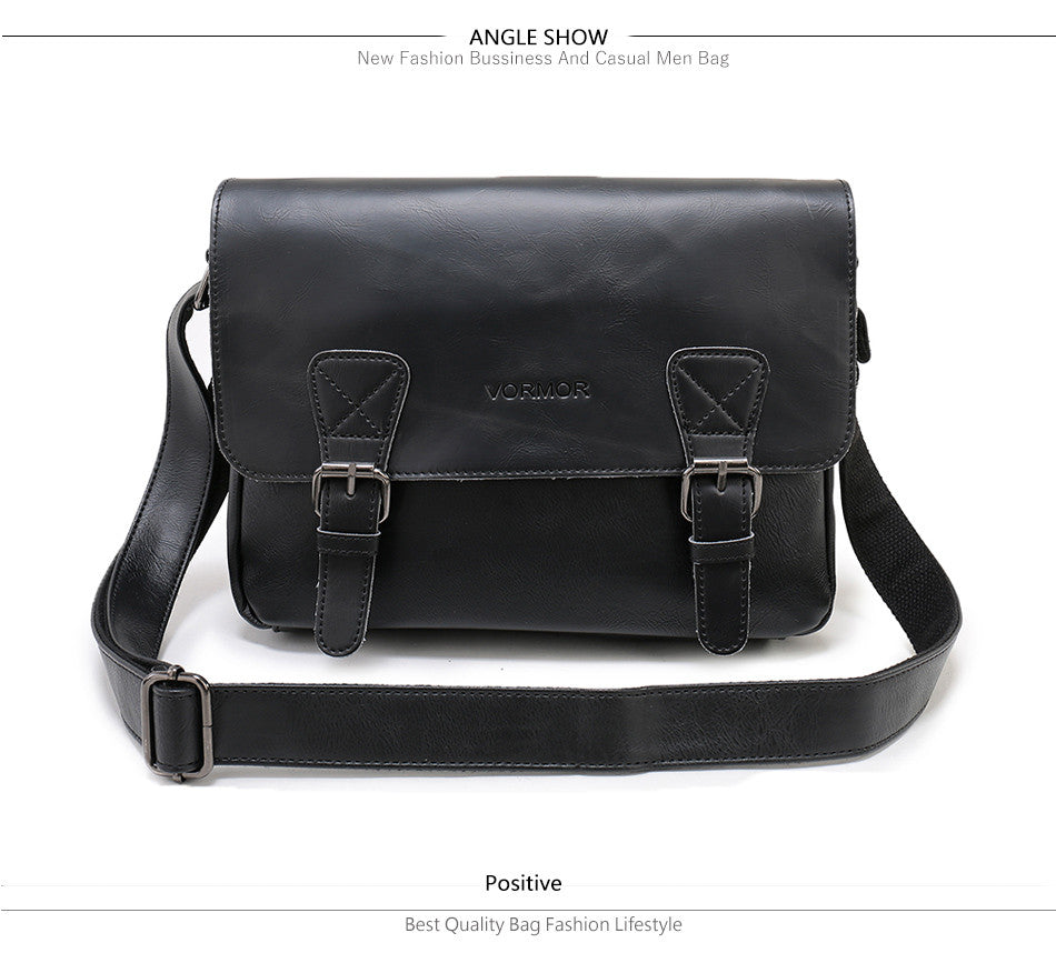 4f91aa584f New Arrival Men s Shoulder Bag High Quality Handbags Satchel Leather  Messenger Bags For Men