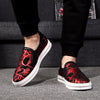 Best Sellers Spring Autumn Fashion Cloth Printed Casual Shoes Breathable Flat heel Lovers Shoes