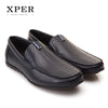 Brands Fashion Men Flats Men Casual Shoes Slip-on Black Blue Men