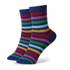 Combed cotton girls socks women socks,colorful student socks
