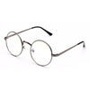 Designer Round Eyeglasses Frame Vintage Eye glasses Clear Lens Reading Eye wear Frame Optical Glass