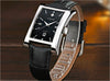 New Luxury Men's Watches Quartz Watch Male Wristwatch leather Strap Waterproof Clocks