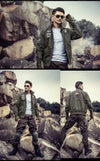 Bomber Jacket Men Air Force One Mens Jackets And Coats Army Military Pilot Jacket
