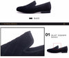 Luxurious men dress shoes men Stripes and white Handmade Men's
