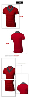 Casual Men t-shirt fashion solid t shirt men t shirt clothes