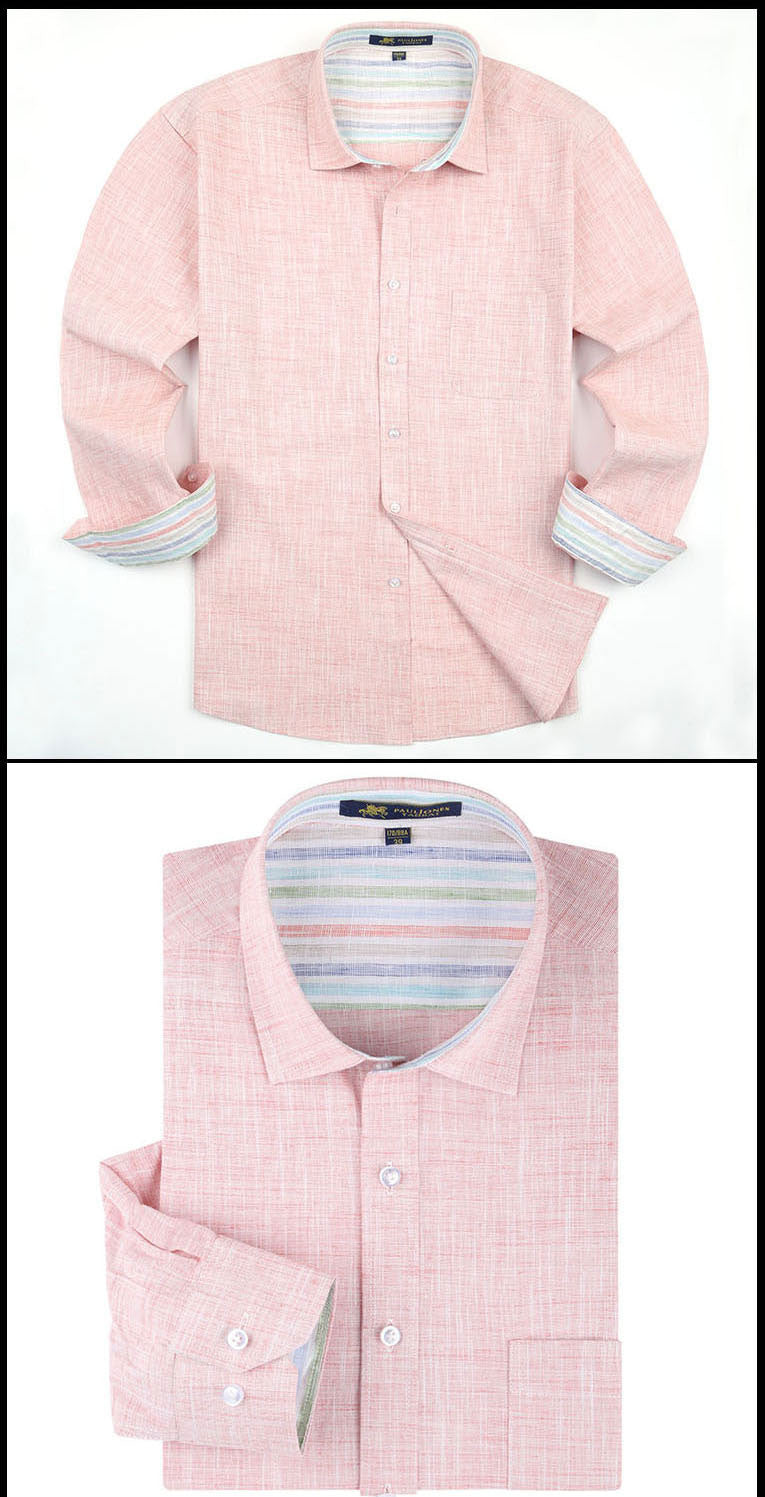New Arrival Breathable Long Sleeve Men Dress Shirts High Quality