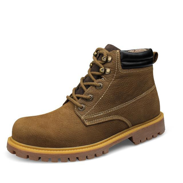 86a4b8d98be Lace Up Work & Safety Leather Timber Boots