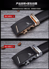 Famous Belt Men 100% Good Quality Cowskin Genuine Luxury Leather Men's Belts for Men,Strap Metal Automatic Buckle