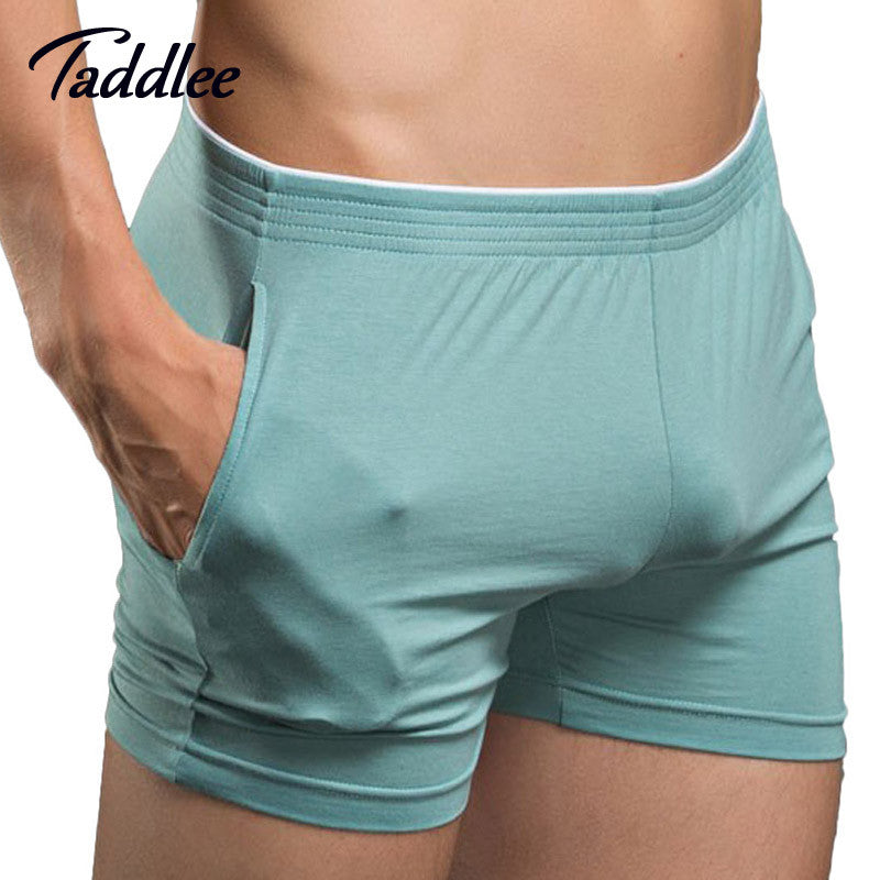 Sexy Men Underwear Boxer Shorts Mens Man Cotton Underwear High Quality Home  Sleepwear Underpants New