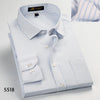 Classic Striped Men Dress Shirts Long Sleeve Plus Size Business Formal Shirts Male Casual Shirts masculina hombre