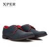 Casual Men Dress Shoes Lace-Up Wear Comfortable Men Wedding Shoes