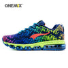 Newest men sports shoes women running breathable mesh male sneakers lace up adult shoes
