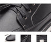 Autumn New high-top Men's Ankle Boots Fashion Tie Casual Non-slip Waterproof Snow Boots Microfiber Leather Retro shoes