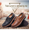 Stylish Comfortable Genuine Leather Flats Shoes