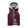 Autumn Winter Knitted Cap Casual Hooded Men Body warmer