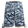 Casual Cotton Loose Bermuda Cargo Multi Pockets Shorts