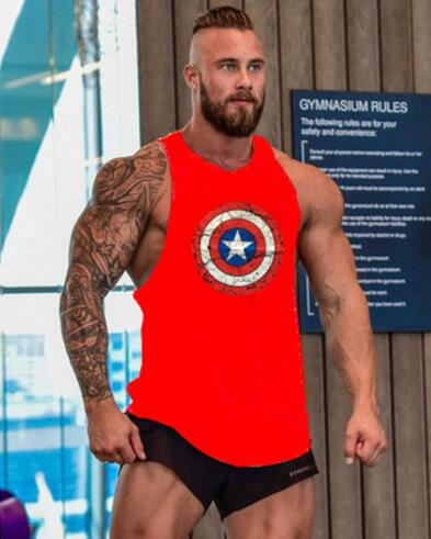 87c21ca149e14 Gyms clothing Bodybuilding and Fitness Men Tank Top hoodies Golds Animal  Vest Stringer Sporting Muscle Shirts