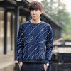 Autumn Casual Printed Hombre O Neck Hoodie Sweatshirt
