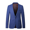 Autumn Single Button Blazers Slim Blue Blazer